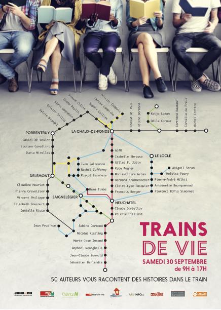 Le visuel de Trains de vie
